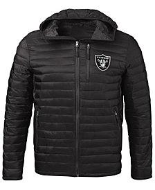 G-III Sports Men's Oakland Raiders Equator Player Front Zip Jacket