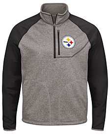 G-III Sports Men's Pittsburgh Steelers Mountain Trail Player Lightweight Jacket