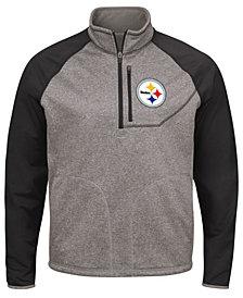 G-III Sports Men's Pittsburgh Steelers Mountain Trail Player Lightweight Jacket