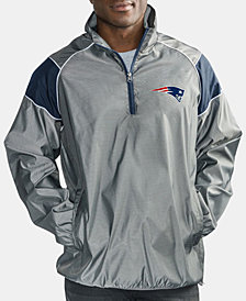 G-III Sports Men's New England Patriots Fade Player Lightweight Pullover Jacket