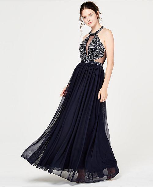 4a5f65e0a8f Sequin Skirt Dress With Chiffon Top - Photo Dress Wallpaper HD AOrg