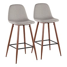 Stackable Barstool Set of 2