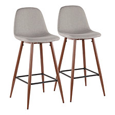 Lumisource Oregon Stackable Barstool Set of 2