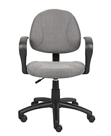 Boss Office Products Mesh Flip Arm Chair