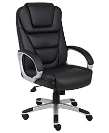 """NTR"" Executive LeatherPlus Chair with Knee Tilt"