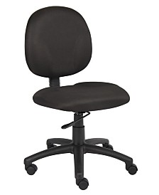 Boss Office Products Velvet Guest Chair