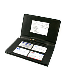 Royce Luxury Glove Compartment Car Organizer in Genuine Leather