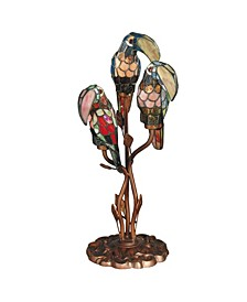 Three Parrots Table Lamp