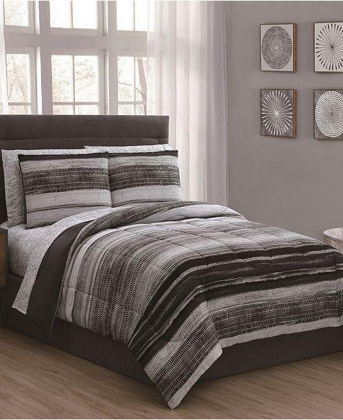 Geneva Home Fashion Laken 5-Pc Twin Bed in a Bag