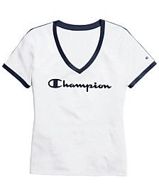 Champion Heritage Cotton Logo T-Shirt