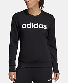 adidas Logo French Terry Sweatshirt