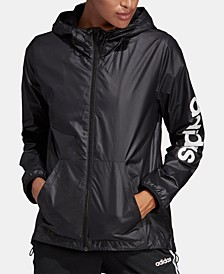 Women's Linear Logo Windbreaker