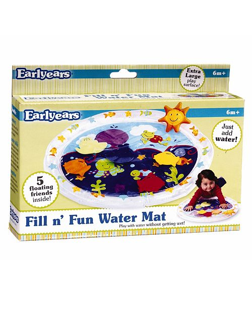 Fundamental Toys Pat 'N Laugh Water Mat