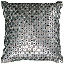 """12"""" x 12"""" Hand Beaded Pillow Cover"""