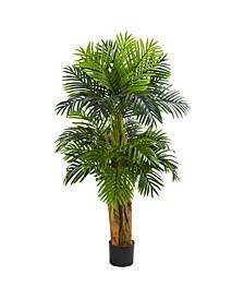 5' Triple Areca Palm Artificial Tree