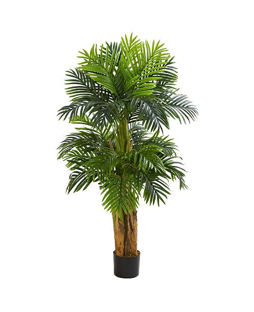 Nearly Natural 5' Triple Areca Palm Artificial Tree