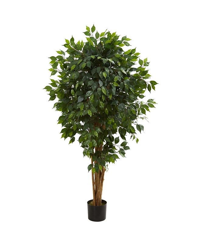 Nearly Natural 5.5' Ficus Artificial Tree