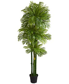Nearly Natural 7.5' Phoenix Palm Artificial Tree