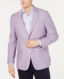 Tommy Hilfiger Men's Modern-Fit Chambray Sport Coat
