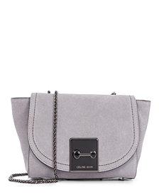 Céline Dion Collection Suede Baroque Clutch Handbag