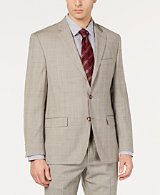 Men's UltraFlex Classic-Fit Plaid Jacket