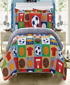 Chic Home Classic Sport 4-Pc. Quilt Sets