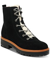 c841e1d7ed2 Marc Fisher Izma Lace-Up Hiker Booties