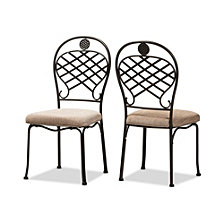 Set of 2 Hera Dining Chair, Quick Ship