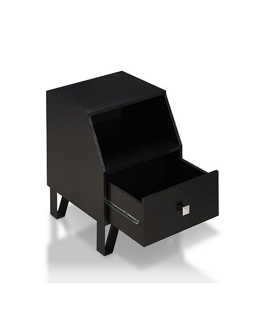 Furniture of America Jilah Modern Storage End Table