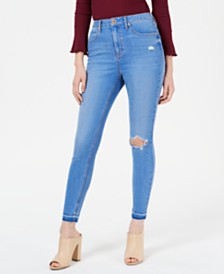 American Rag Juniors' Distressed Skinny Jeans