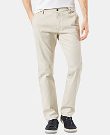 Dockers Men's All Seasons Slim-Fit Alpha Khaki Pants, Created for Macy's
