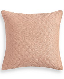 "Diamante 18"" x 18"" Decorative Pillow, Created for Macy's"