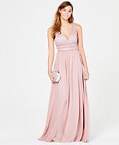 City Studios Juniors  Glitter Lace   Chiffon Gown 1a4b52958