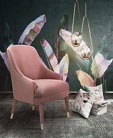 Orchid Velvet Chair