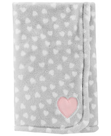 Carter's Baby Girls Heart-Print Blanket