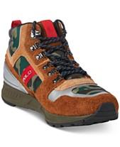 fc0e0be3888bd Polo Ralph Lauren Men s Train 100 High-Top Sneakers