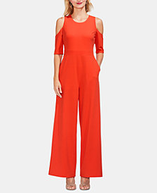 Vince Camuto Cold-Shoulder Jumpsuit