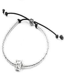 Boxer Head Bracelet in Sterling Silver