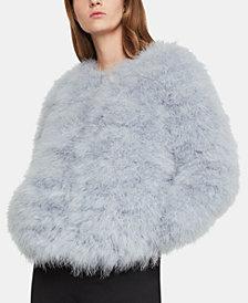 BCBGMAXAZRIA Feather Jacket
