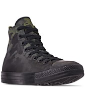 93846e0e6ae Converse Men s Chuck Taylor All Star Gradient Camo High Top Casual Sneakers  from Finish Line