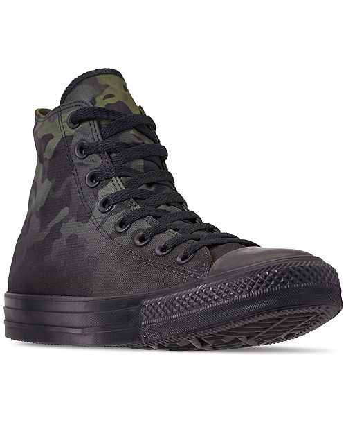 7581dcbd78b ... Converse Men's Chuck Taylor All Star Gradient Camo High Top Casual  Sneakers from Finish ...