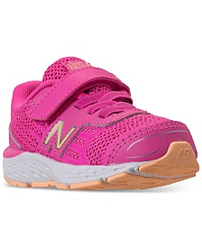 New Balance Toddler Girls' 680v5 Wide Width Running Sneakers from Finish Line