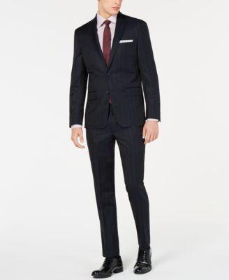 Men's Modern-Fit Pinstripe Pants