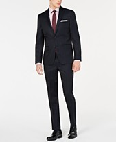 c679ab767 DKNY Men's Modern-Fit Pinstripe Suit Separates