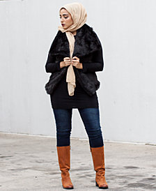 Verona Collection Faux Fur Vest