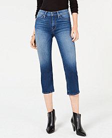 Hudson Jeans Stella Cropped Straight-Leg Jeans