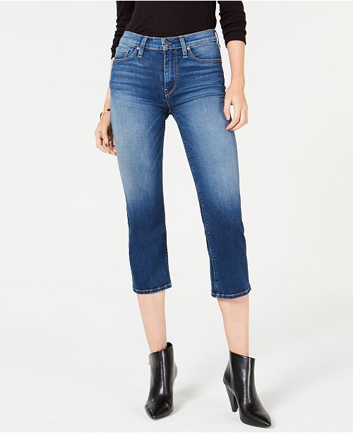 d491737f3ab Hudson Jeans Stella Cropped Straight-Leg Jeans & Reviews - Jeans ...