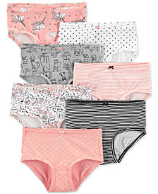 Carter's Little & Big Girls 7-Pk. Printed Underwear