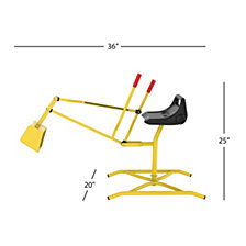 Ride-On Crane Toy Lil' Rider