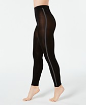 e76457f21c7aa I.N.C. Varsity-Stripe Footless Tights, Created for Macy's